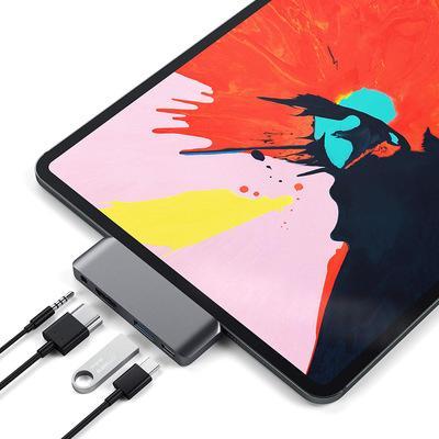 Bakeey Type-C Adattatore hub USB C con Type-C PD Charging / Porta USB 3.0 / Jack audio da 3,5 mm / 4K 30Hz HD Display per Type-C Tablet Smart Phone iPad Pro 2018 Samsung Galaxy S10 Huawei P30 Pro