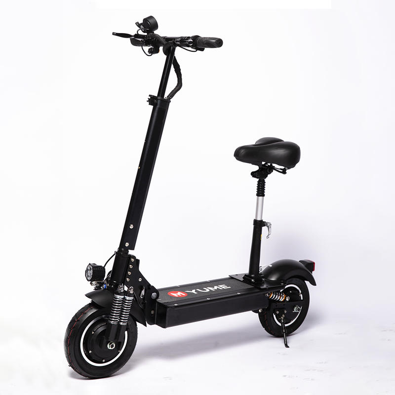 YUME YM-D4+ 23.4Ah 52V 2000W Dual Motor Folding Electric Scooter 65-75km/h Top Speed 80km Range Mileage Double Brake System Max Load 200kg EU Plug