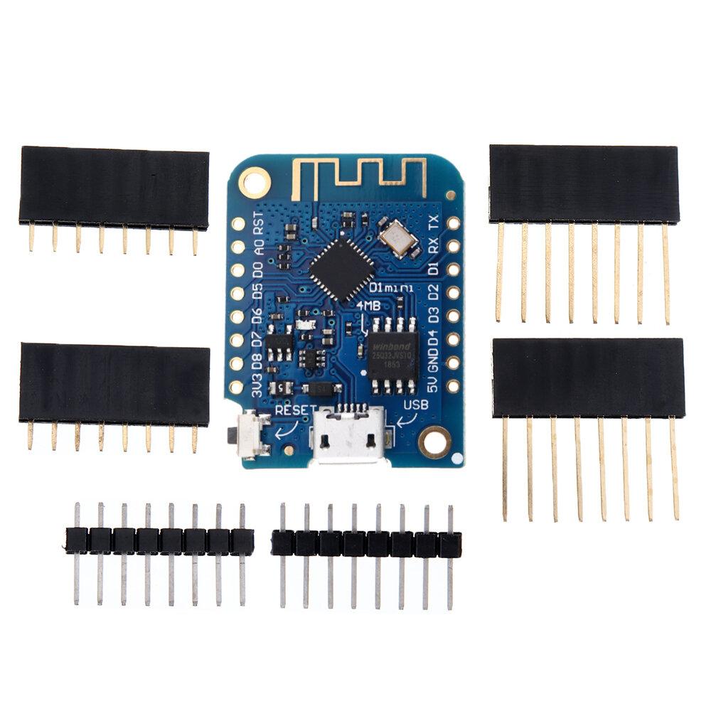 Geekcreit® D1 Mini V3.0.0 WIFI Internet Of Things Development Board Based ESP8266 4MB MicroPython Nodemcu Arduino Compatible