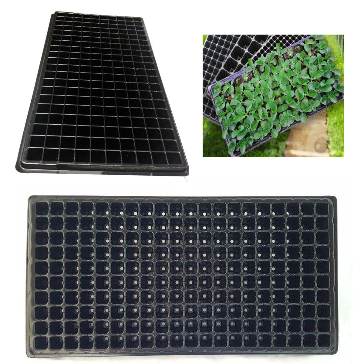 200 Holes Planting Seeds Grow Box Insert Propagation Nursery Seeding Starter