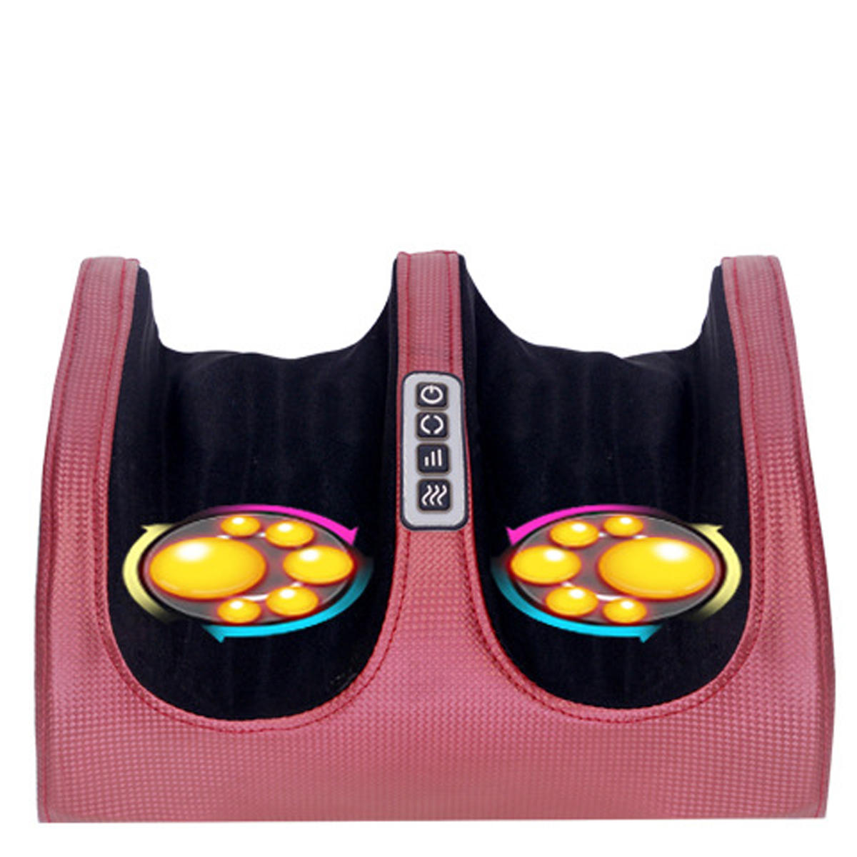 Foot Massager Machine with Heat Electric Feet Massager Plantar Fasciitis Deep Kneading Foot Massages Muscle Relief Nerve Pain Therapy Electric Massager