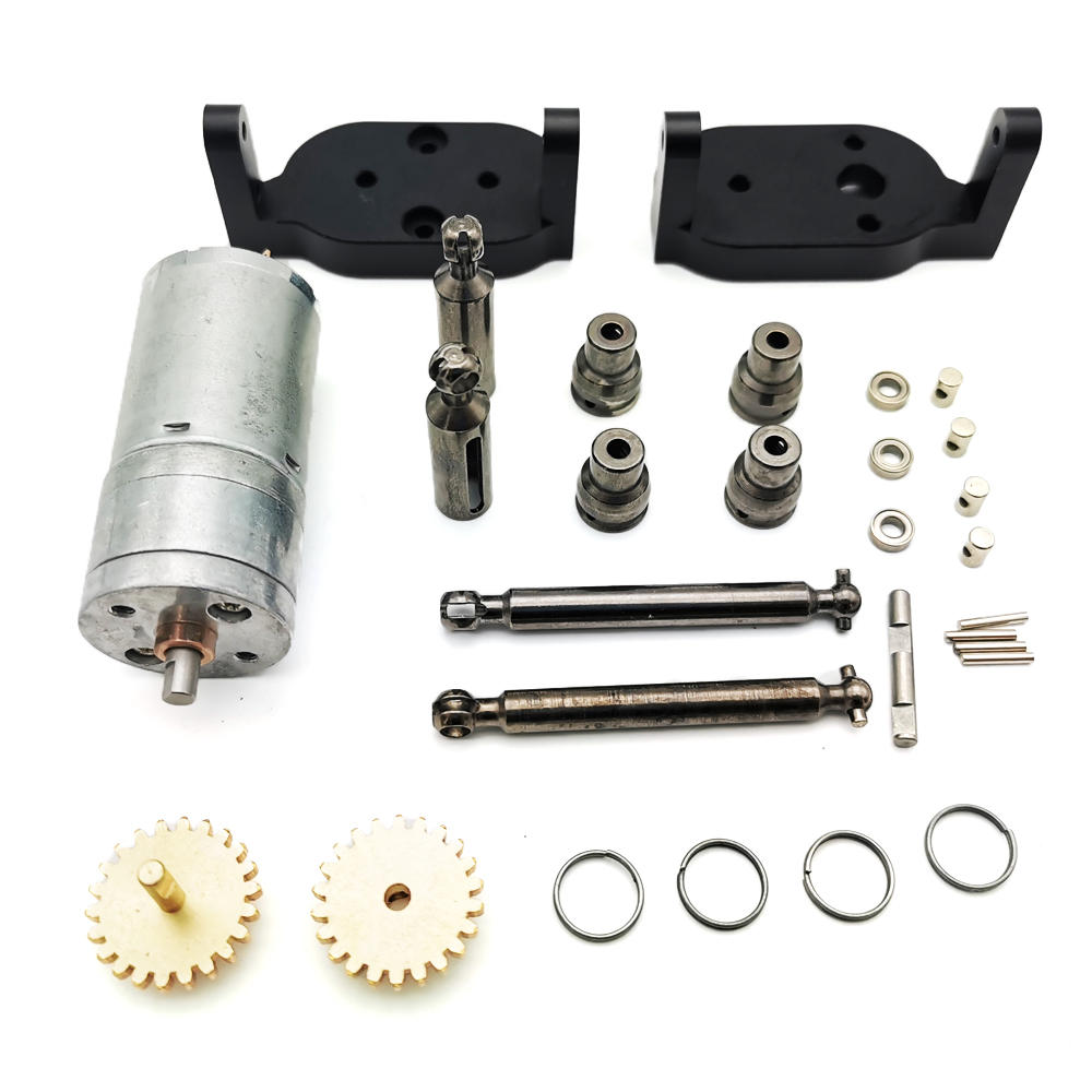 WPL C14 C24 C34 MN 90 91 Reversal Gear Box For 1/16 Buggy Crawler Off Road 2CH Vehicle Models RC Car Parts Metal Set