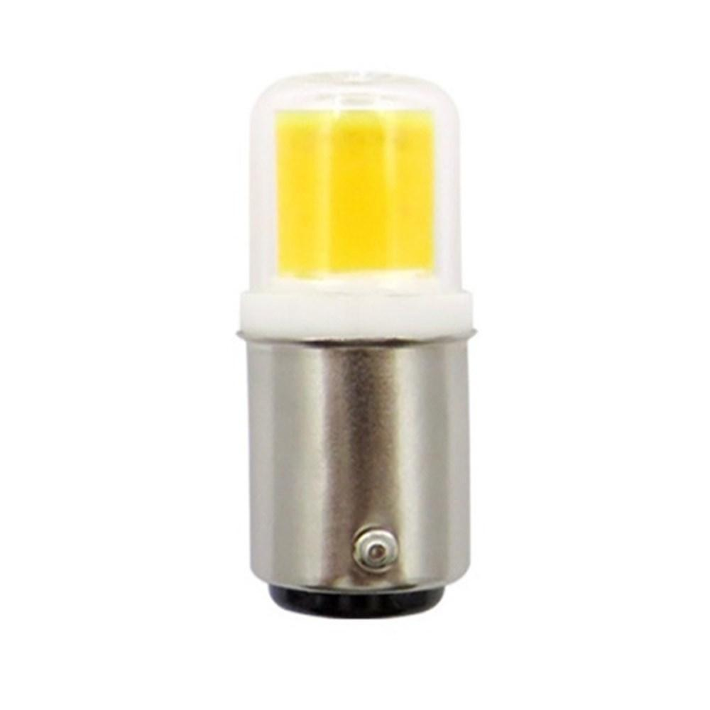 DC12V Dimmable BA15D 5W 450LM COB LED Light Bulb for Car Lamp Table Night Light фото