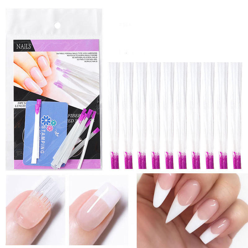 Nail Extension Fibre Paper-free Tray Rapid Extension Fiberglass Manicure Tools