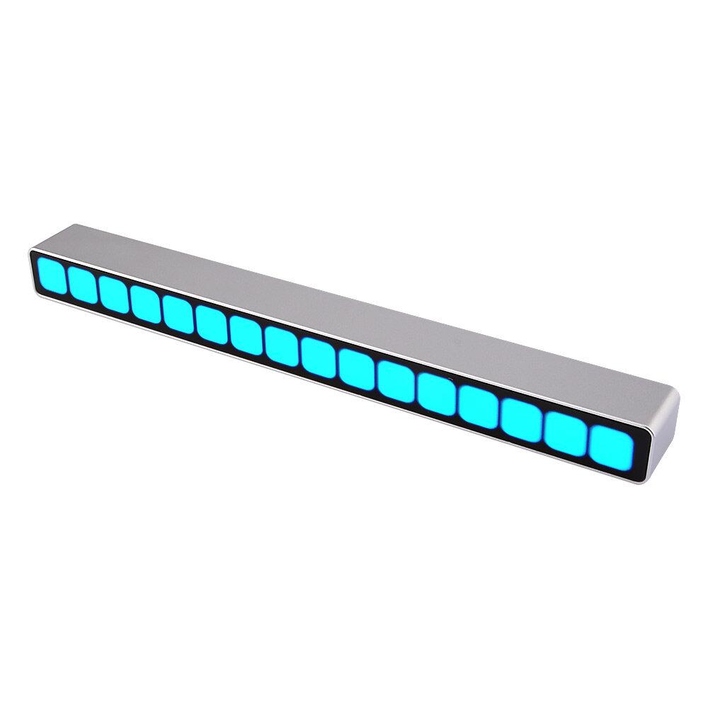 Assembled 16 Level Sound Control Level Indicator Blue LED Mono VU Meter Audio Music Spectrum Board AGC For MP3 Speaker A