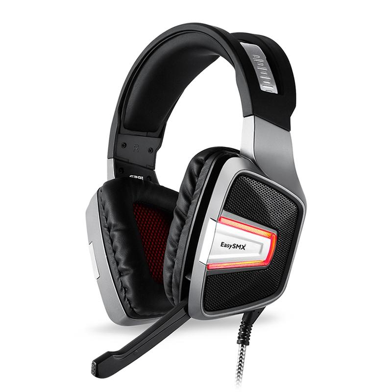 EASYSMX ESM-G291 Omnidirectional Vibration Stereo Gaming Headphone with Microphone for PS4 XBOX