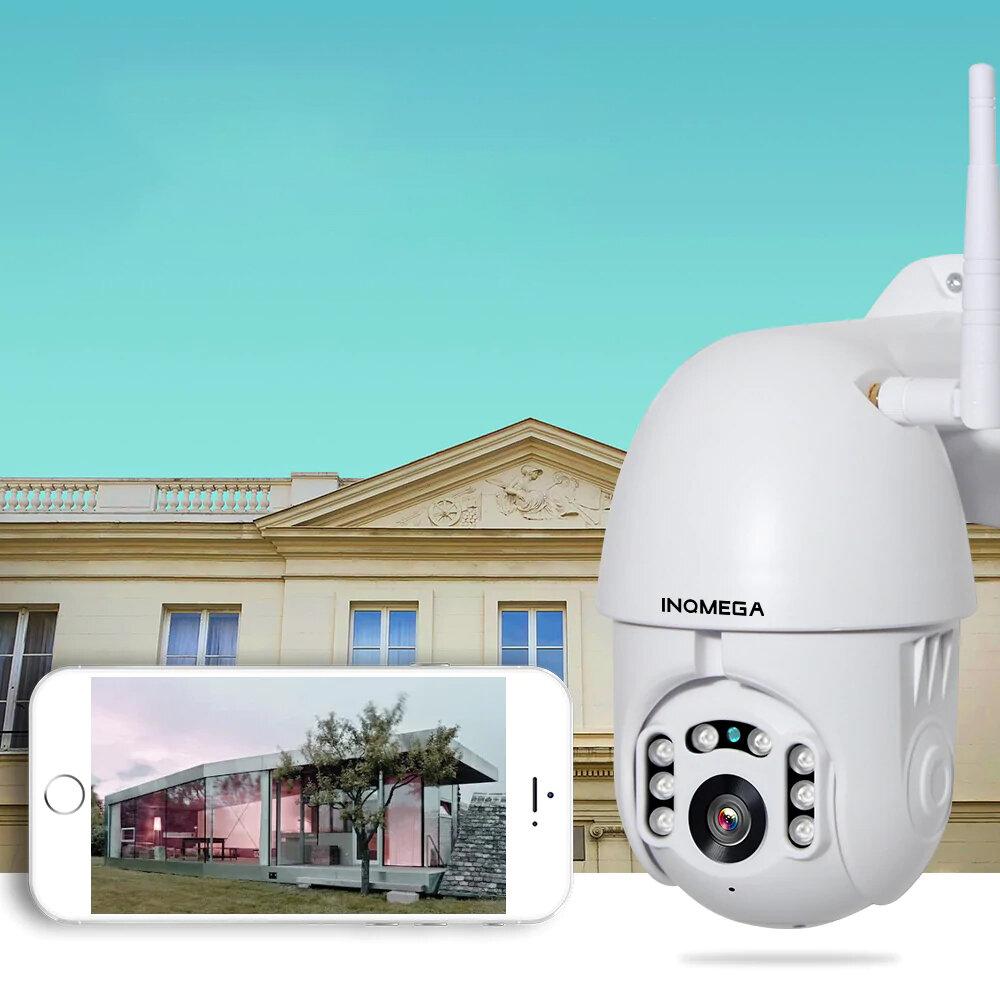 INQMEGA PTZ381 HD 1080P PTZ 360  Panoranic Waterproof IP Camera IR Night Version Two way Audio