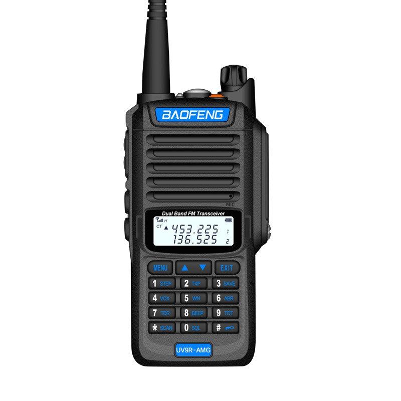 BaoFeng UV9R-AMG EU Plug Radio Walkie Talkies 10W High Power UV Dual Band Walkie Talkie IP68 Waterproof Walkie Talkie