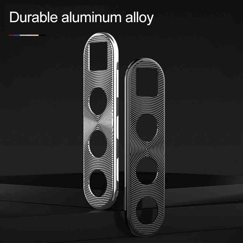 Bakeey Anti-scratch Metal Circle Ring Phone Camera Lens Protector for Xiaomi Redmi Note 8