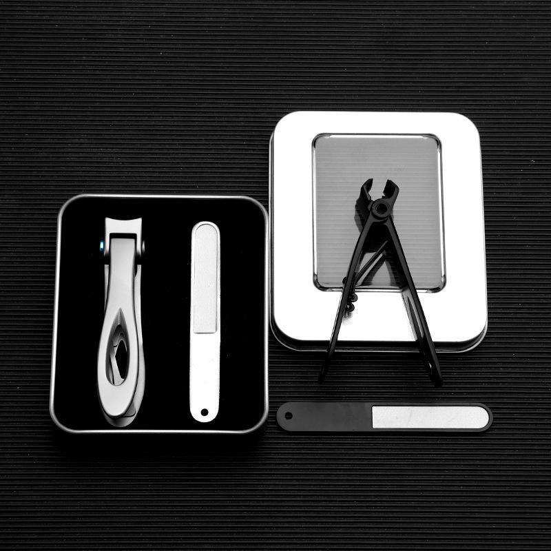 2Pcs Stainless Steel Large Opening Nail Clipper Nail Clippers Large Nail Scissors Set
