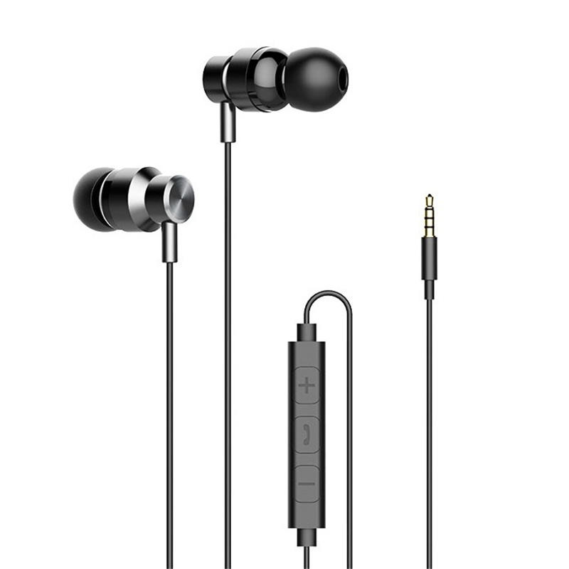 Haylou H8 3.5mm Wired Control In-ear Earphone Stereo Sound Music Headphone Earbuds with Mic