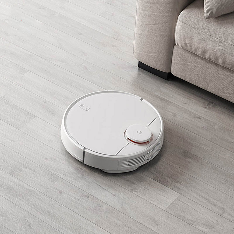 2019 New Xiaomi Mijia 2 in 1 Robot Vacuum Mop Vacuum Cleaner 2100pa Wifi Smart Planned Clean Mi Home APP - Black