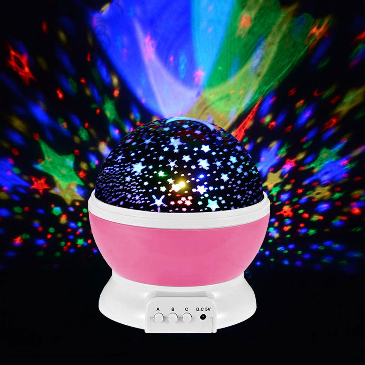 Led Rotating Star Projector Baby Night