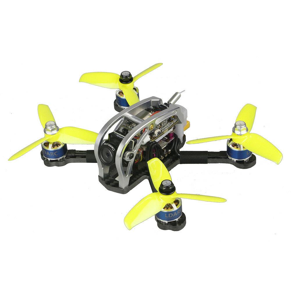 LDARC 130GTI-HD 133mm F4 OSD 3-4S FPV Racing Drone PNP BNF w/ Caddx.US Turtle V2 1080P Camera