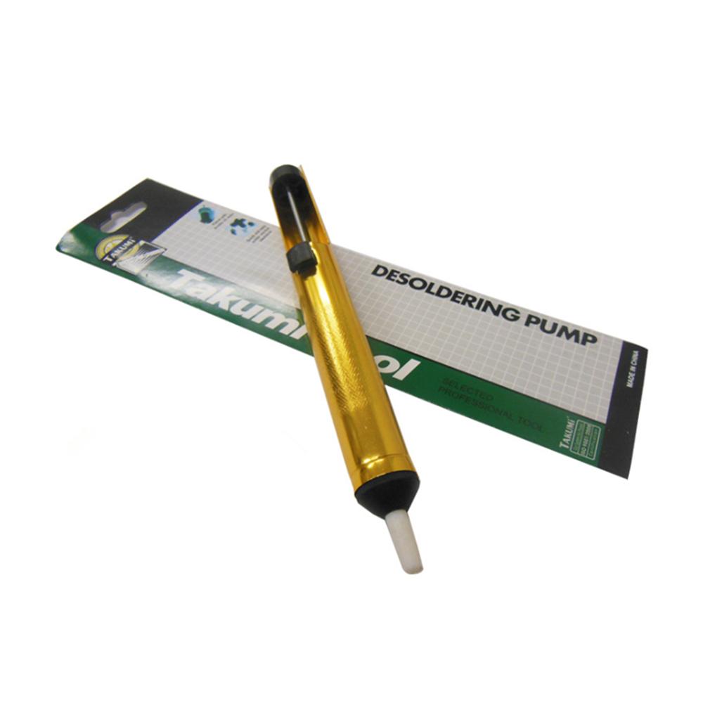Metal Solder Sucker Desoldering Pump Removal Vacuum Soldering Iron Desolder Suction Tin Pen Hand Tools Welding Tools