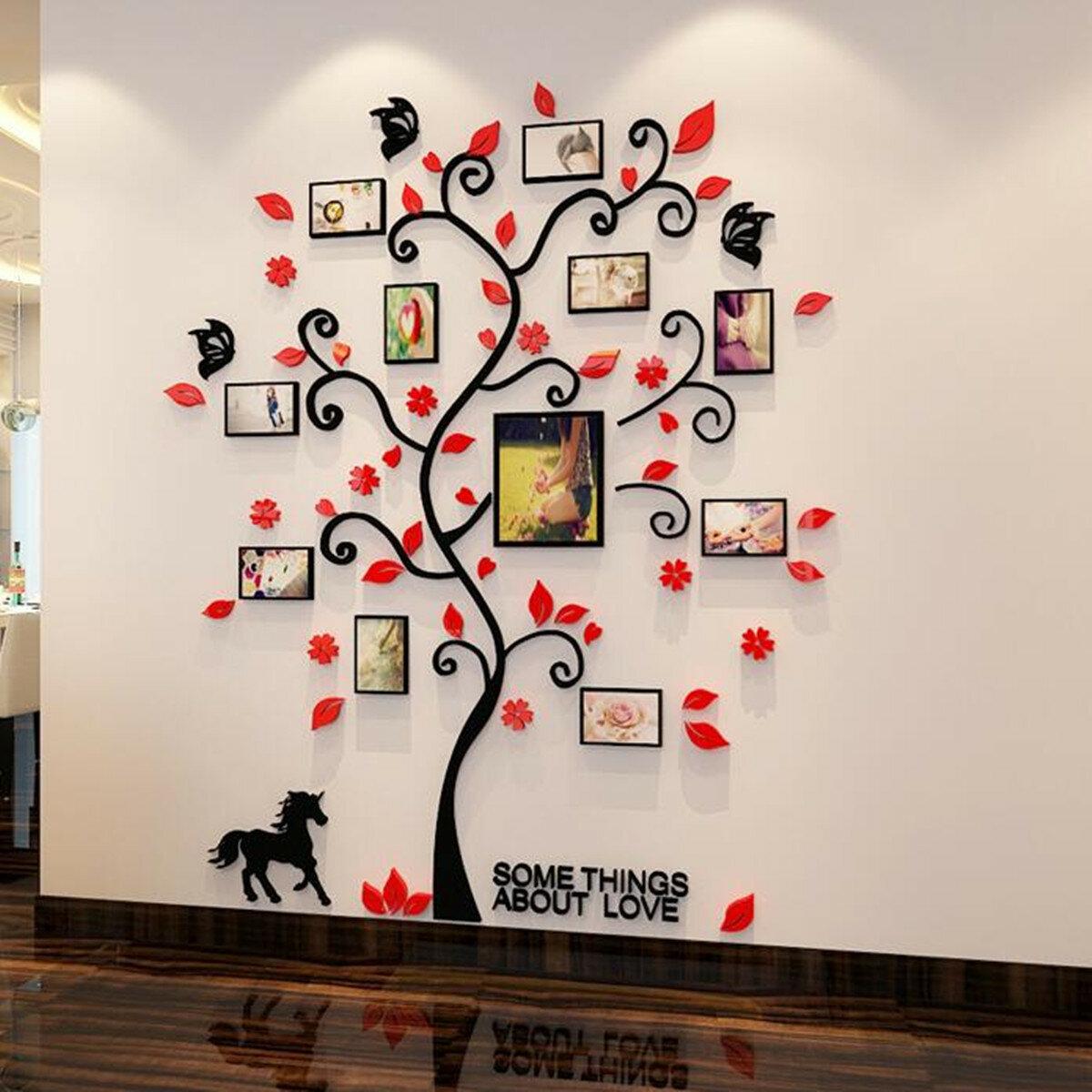 Photo Frame Family Tree Wall Sticker