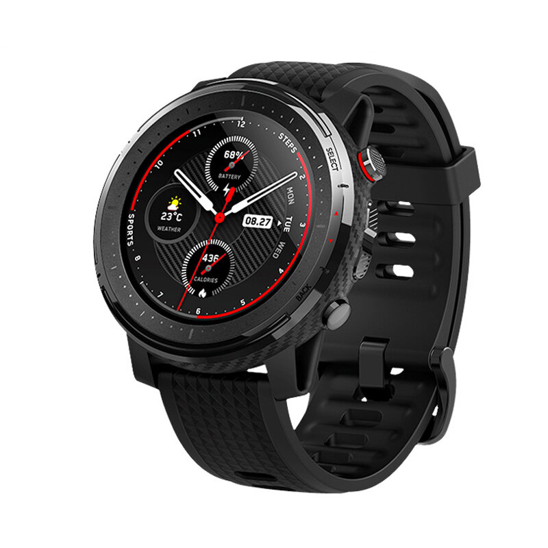 Amazfit stratos 3 1.34' Screen GPS+GLONASS bluetooth Music Play 14 Days Battery Smart Watch from xiaomi Eco-System
