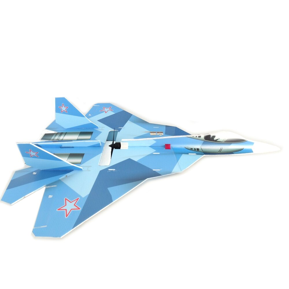 T-50 5mm PP 740mm Wingspan DIY RC Airplane Drone Scale Aircraft KIT Fixed Wing Trainer