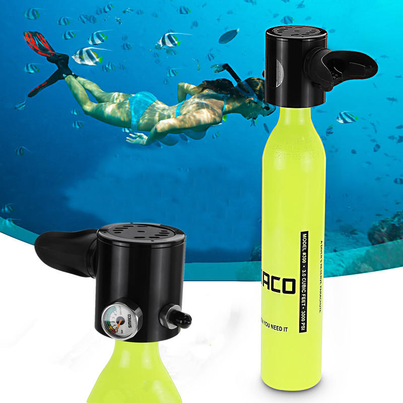 Oxygen Tank For Sale >> 500ml Mini Air Tank Cylinder Underwater Oxygen Tank Breathing Respirator Swimming Diving Set Equipment