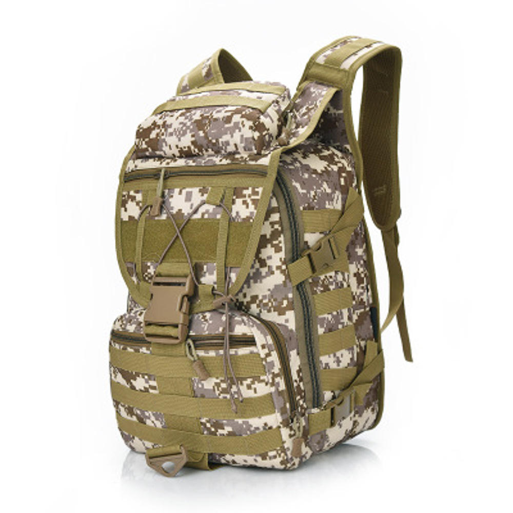 Outdoor Sports Backpack Multifunctional Large Capacity Camouflage Bag Travel Essential
