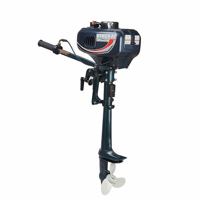 2 Stroke 3.6HP Outboard Motor Boat Engine 40cm Shaft w// Water Cooling CDI System