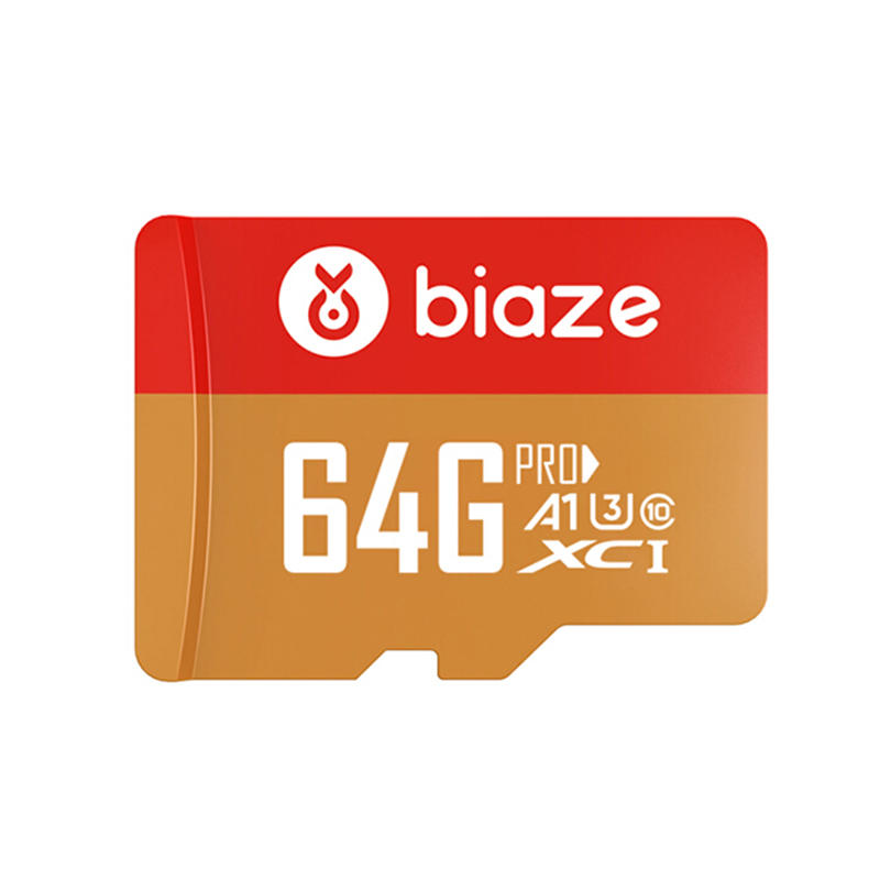 BIAZE Class 10 TF Flash Card 64GB 128GB 256GB U3 C10 A1 4K V30 Memory Card for Mobile Automobile Recorder