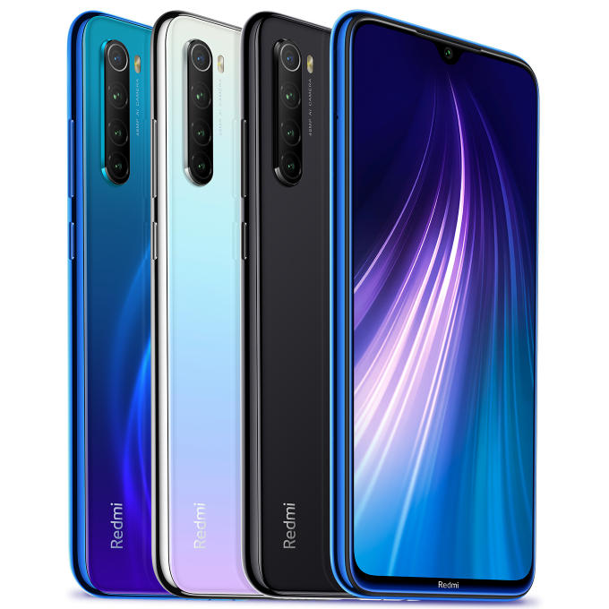Xiaomi Redmi Note 8 6.3 inch 48MP Quad Rear Camera 6GB 64GB 4000mAh Snapdragon 665 Octa core 4G Smartphone