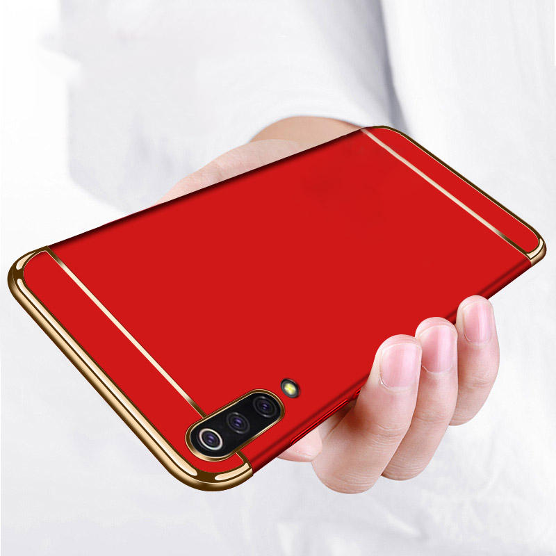 Bakeey Ultra-thin 3 in 1 Plating PC Hard Back Cover Protective Case For Xiaomi Mi9 Mi 9 Lite / Xiaomi Mi CC9