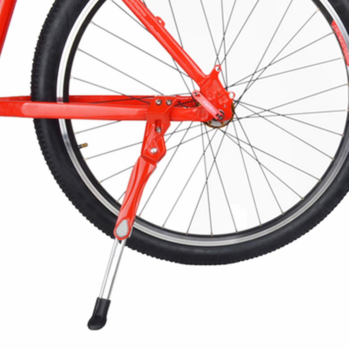 Universal Bike Kickstand Alloy Adjustable Height Rear Side Bicycle Kick Stand US