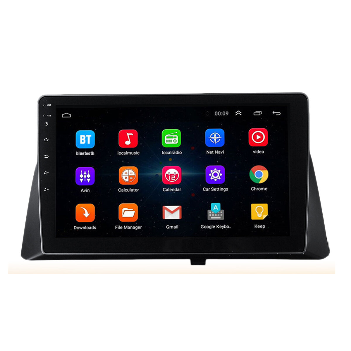 10.2 Inch 8 Core for Android Car Stereo Radio 1+16G/2+32G MP5 Player GPS Nav WIFI AM For Honda Accord 2008-2013
