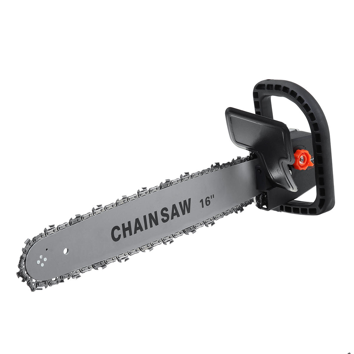16 Inch Electric Chainsaw Bracket Stand Adaptor Changed Woodworking Chain saw kit for Angle Grinder