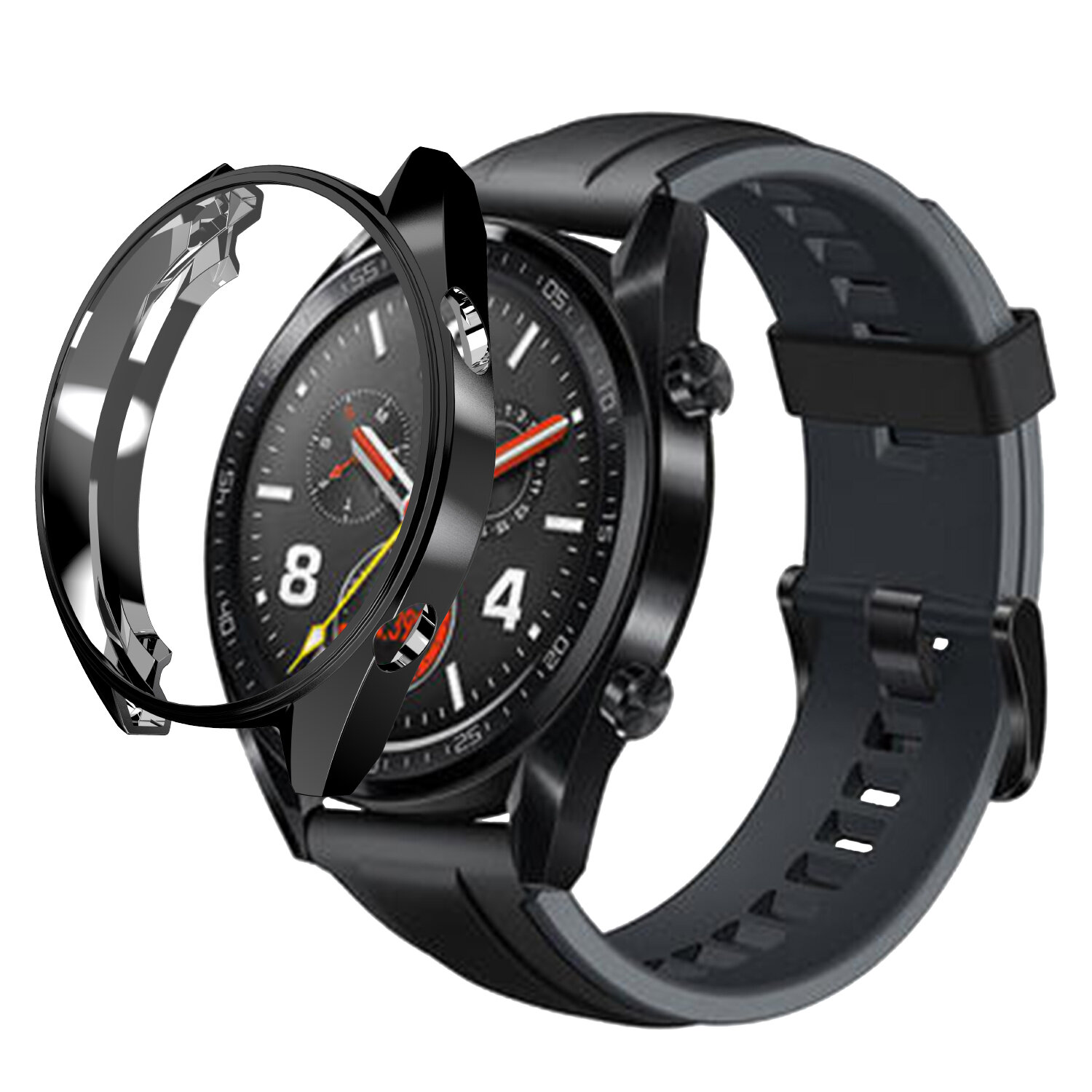 Colorful Hollow Watch Cover Case Cover Watch Case for Huawei Watch GT2