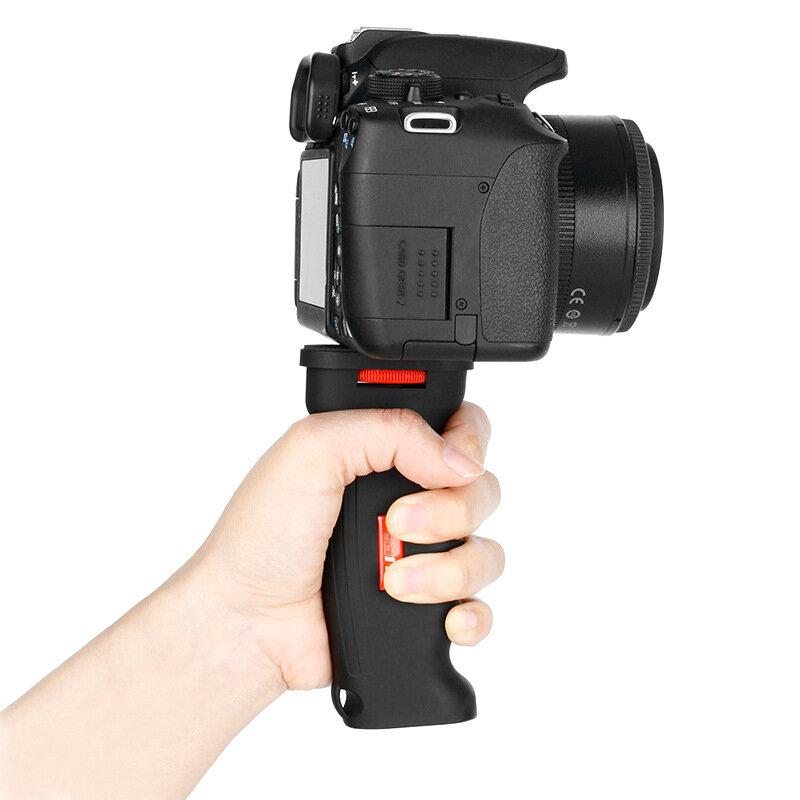 DSLR Camera Handle Grip Shank Stabilizer Anti-shock Handheld Grip for Gopro Hero Mirrorless Camera