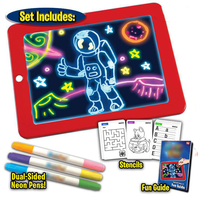 3D Magic Drawing Pad LED Writi...