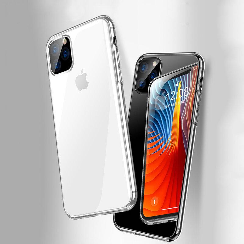 Bakeey støtsikker ultratynn gjennomsiktig klar Soft TPU beskyttelsesetui til iPhone 11 Pro 5,8 tommer