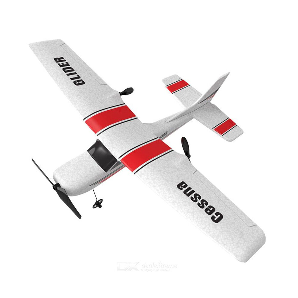 Cessna Z53 2.4G 2CH EPP RC Airplane Trainer Glider RTF With Gyroscope Garden Indoor Flying Hobby Kid Toy for Beginner