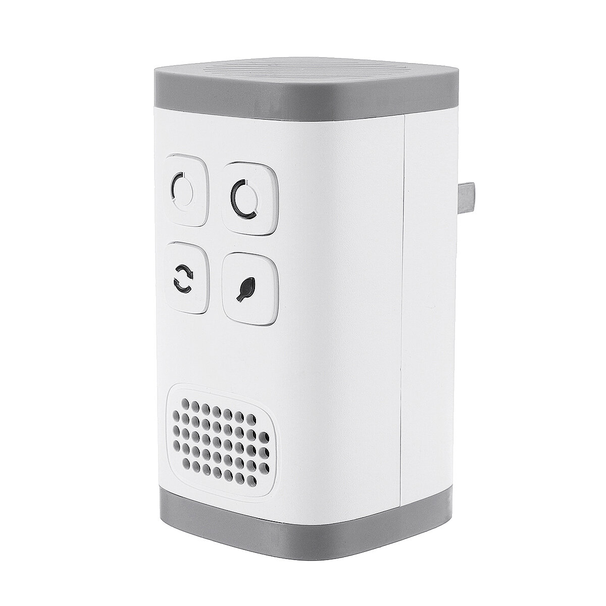 AC110-240V Plug-in Air Purifier Ozone Generator Ionizer Clean Industrial Grade Odor Remover Air Purifier Negative Ion Generator for Allergies Smoke Mold Dust Odor Pets