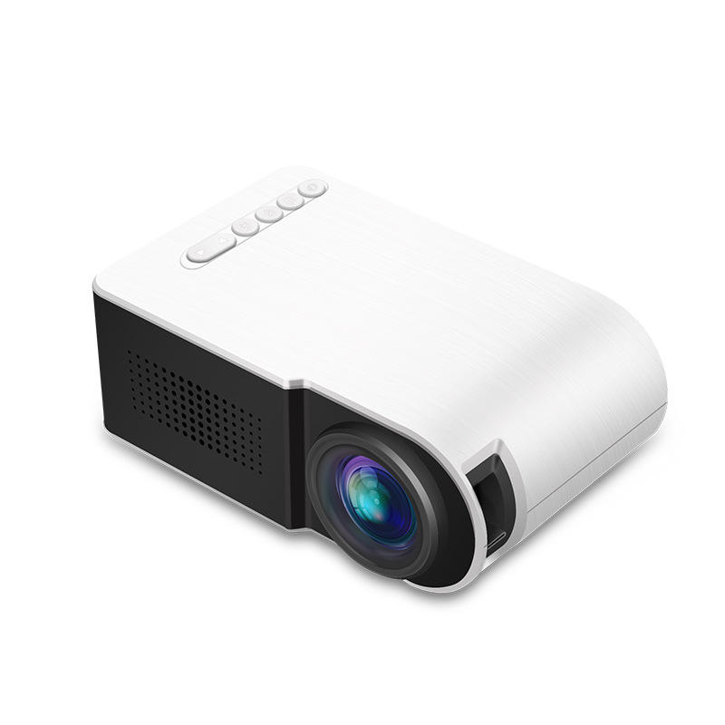 YG210 Micro LCD Projector 7000 Lumens Mini Portable LED Projector 1080P Home Theater Cinema USB HDMI AV SD