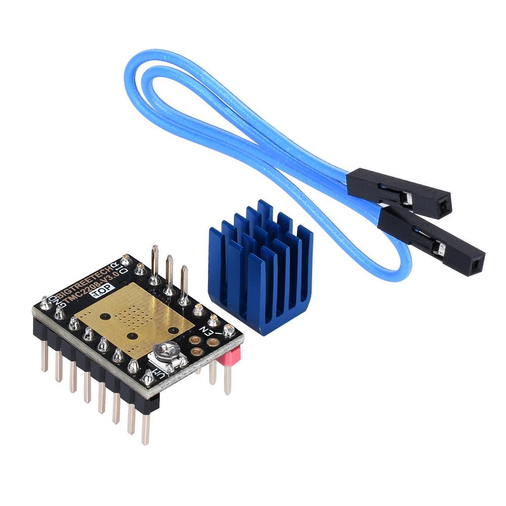 BIGTREETECH® TMC2208 V3.0 UART Режим Stepper Мотор StepStick Драйвер для Reprap 3D-принтер Часть