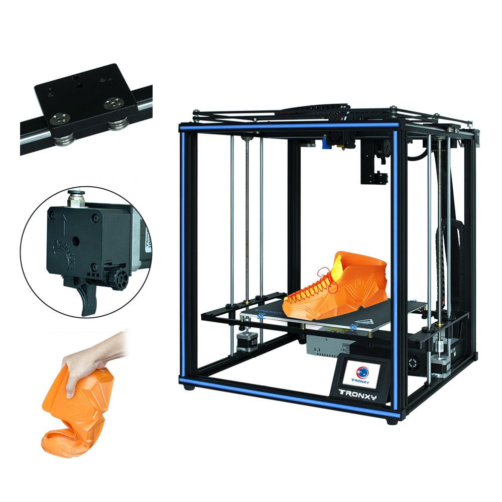 TRONXY® X5SA-400 PRO DIY 3D Printer Kit 400*400*400mm Core XY with Titan Extruder/Auto Leveling/Filament Dectect/Power R