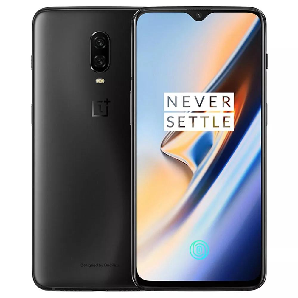 OnePlus 6T A6013 6.41 Inch FHD+ NFC Android 9.0 3700mAh Fast Charge 8GB RAM 128GB ROM Snapdragon 845 Octa Core 2.8GHz 4G Smartphone