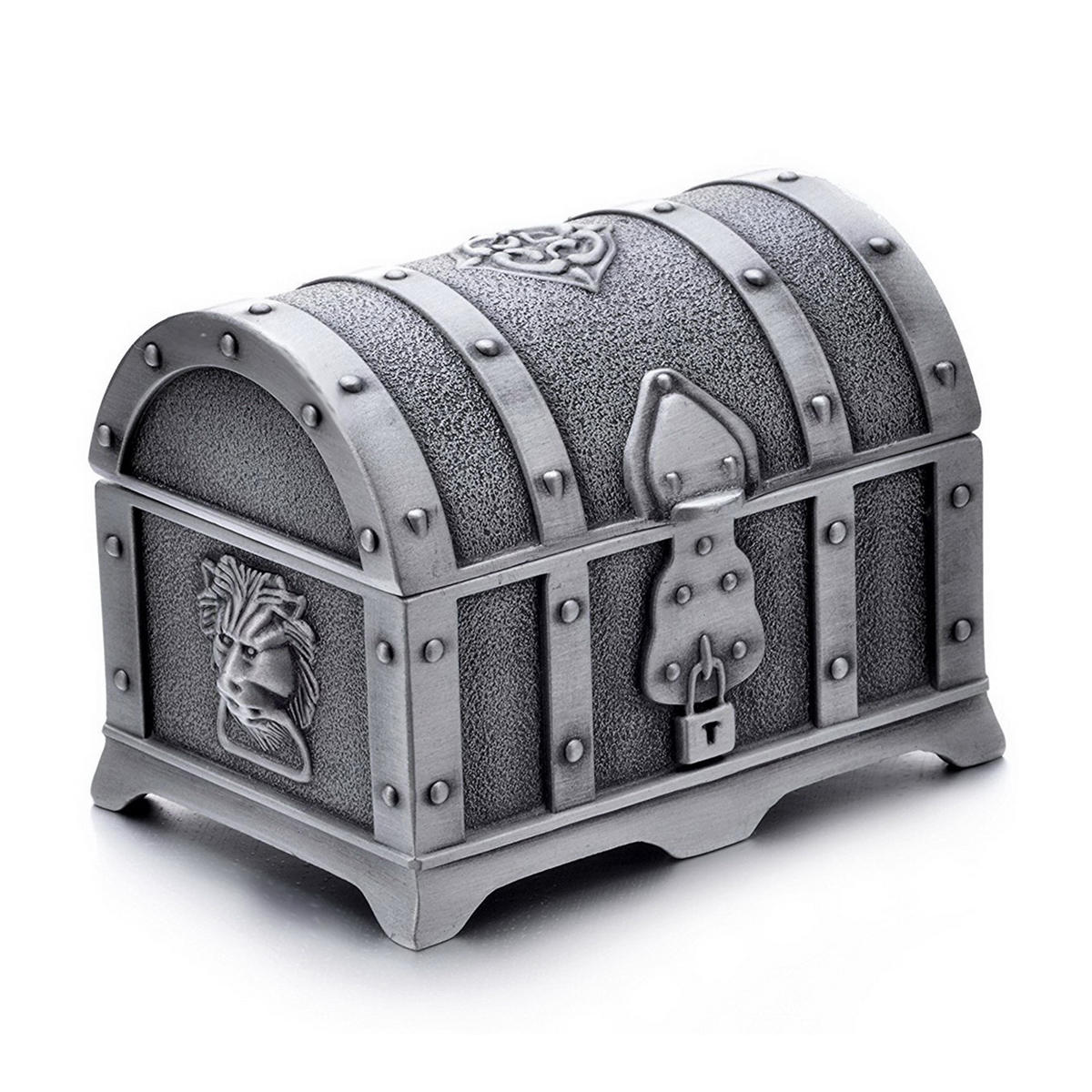 Alloy Dice Storage Box Jewelry Box Treasure Chest High-grade Luggage Box Coin Collecting Box фото