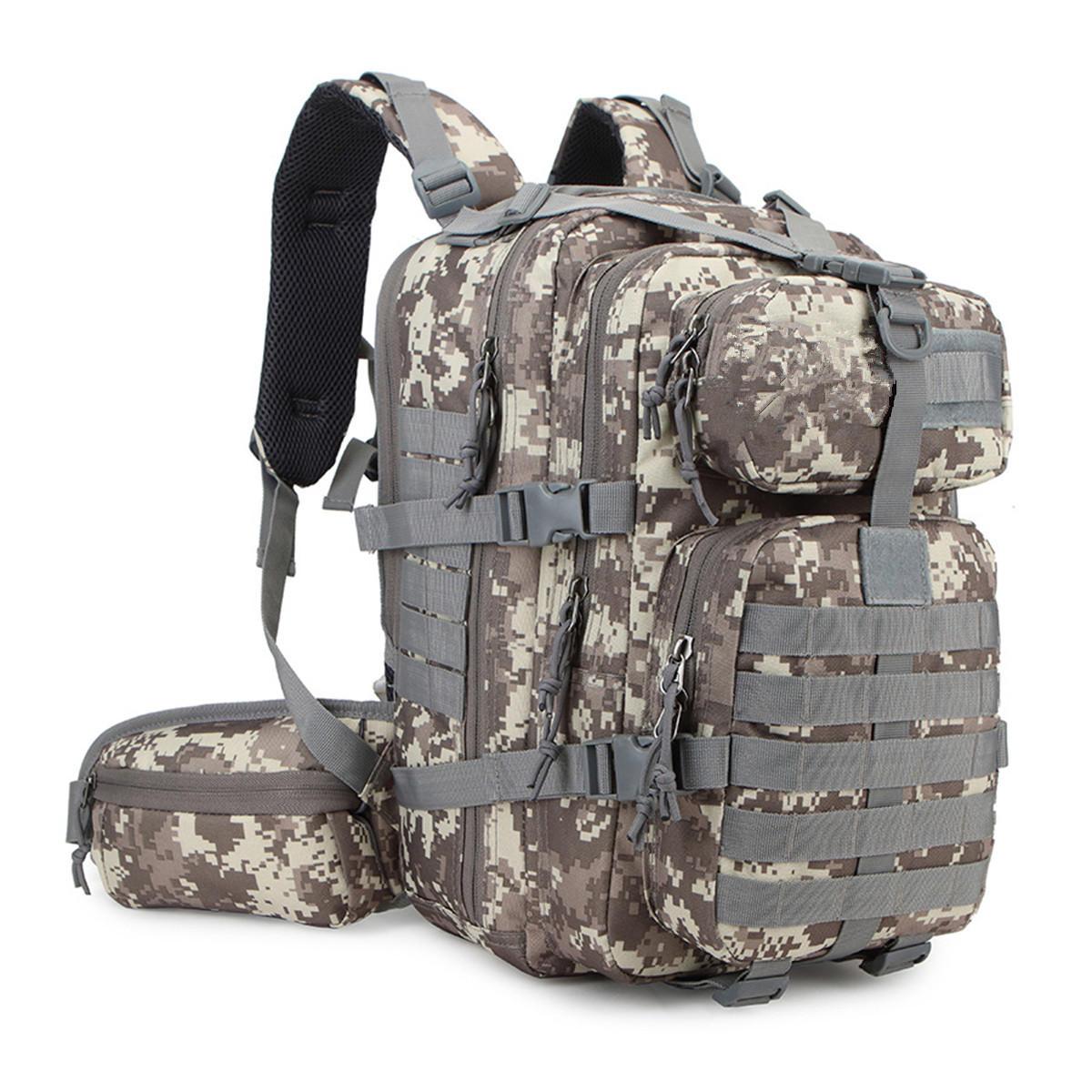 35L Military Tactical Bag Army Backpack Rucksack Outdoor Camping Hiking Trekking Bag, Banggood  - buy with discount
