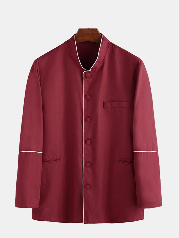 Långärmad tröja för män med ny passform