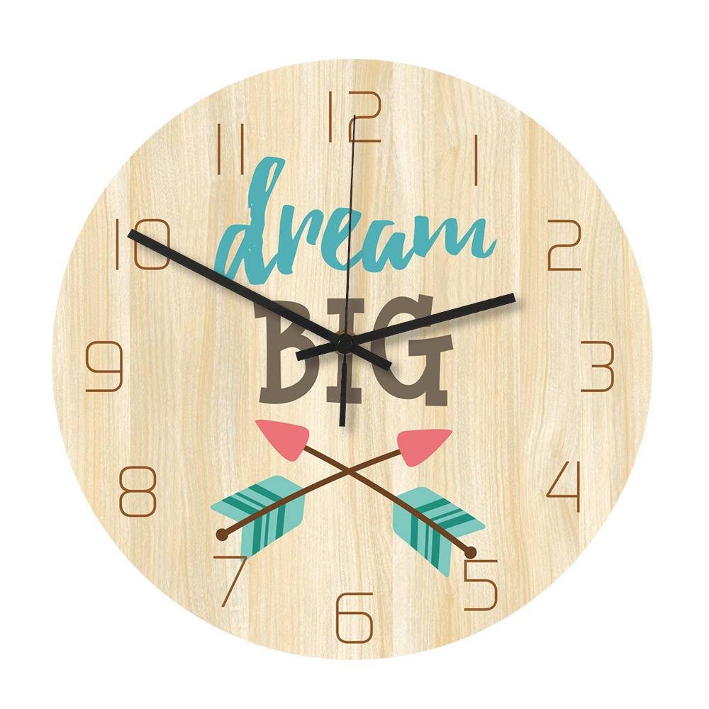Loskii CC037 Creative Wall Clock Mute Wall Clock Quartz Wall Clock For Home Office Decorations