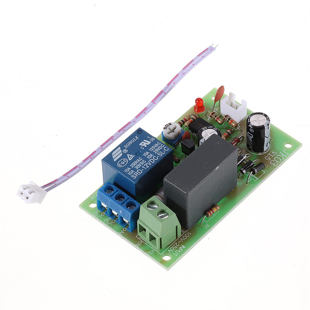 JK03 220V AC Time Delay Relay Control Module with Trigger Delay 5min Adjustable NE555 10A, Banggood  - buy with discount