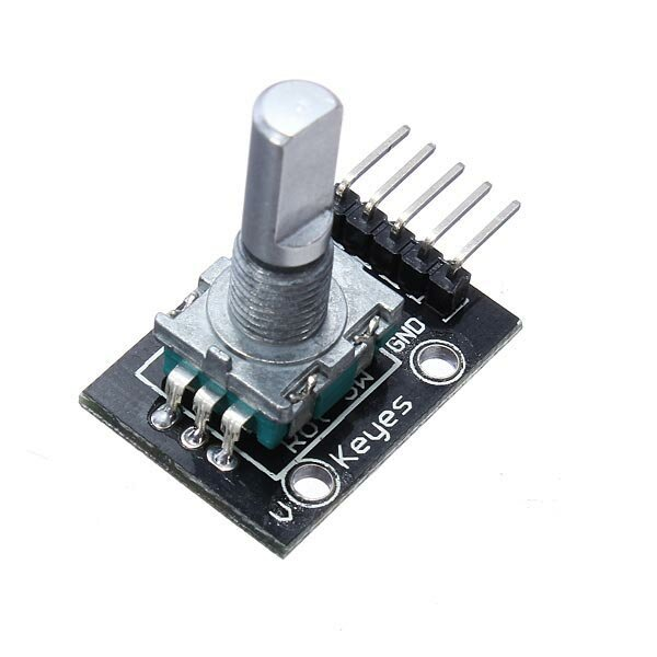 10Pcs 5V KY-040 Rotary Encoder Module AVR PIC Geekcreit for Arduino - products that work with official Arduino boards