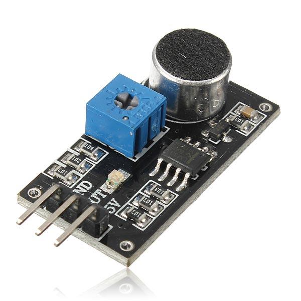 Sound Sensor Detection Module LM393 Chip Electret Microphone For Arduino