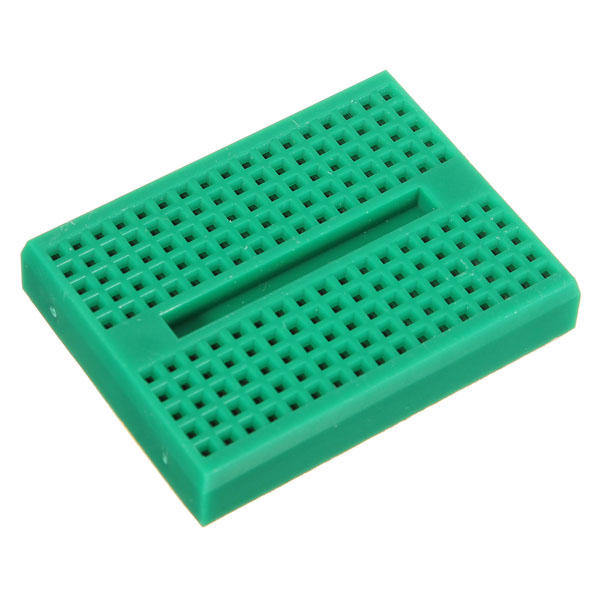 10Pcs Green 170 Holes Mini Solderless Prototype Breadboard For Arduino