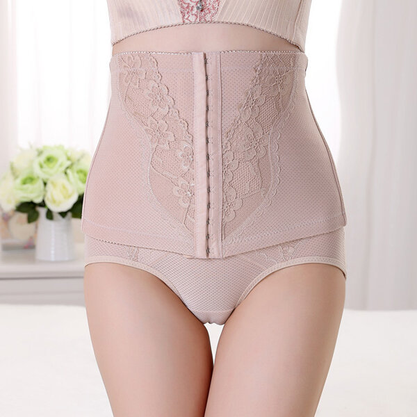 Women High Waist Slimming Body Corset Control Shaper Breathable Girdle